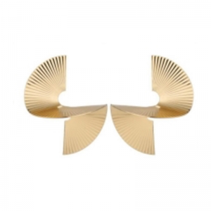 kolczyki złote spirale