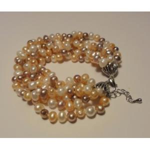 "Bransoleta ""pearl goddess"""