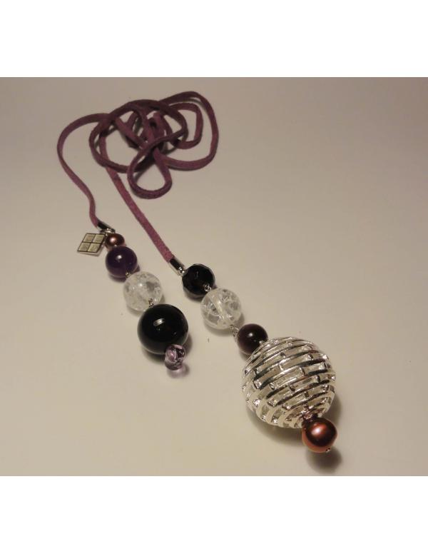 Naszyjnik z pereł - potrójny