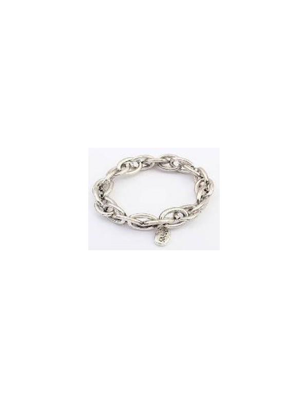 Bransoletka srebrny łańcuch charm Bransoletka srebrny łańcuch charm