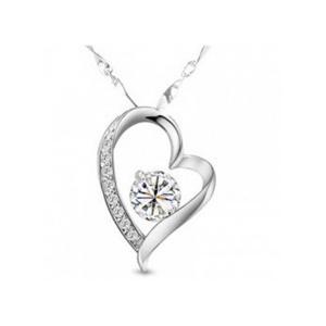 Naszyjnik Naszyjnik z wisiorkiem w kształcie serca