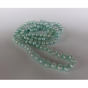 Naszyjnik z pereł - jasny morski