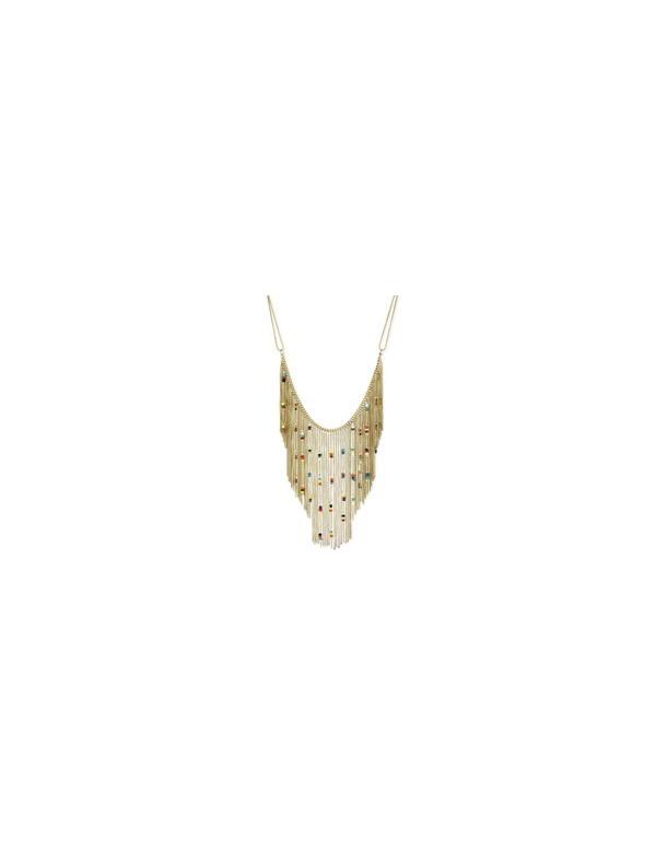 Naszyjnik Naszyjnik z łańcuszkowymi frędzlami