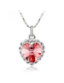 Naszyjnik kryształowe serce Naszyjnik kryształowe serce