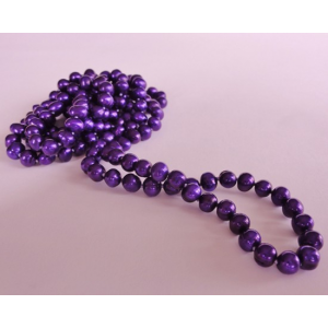 Naszyjnik z pereł - fiolet