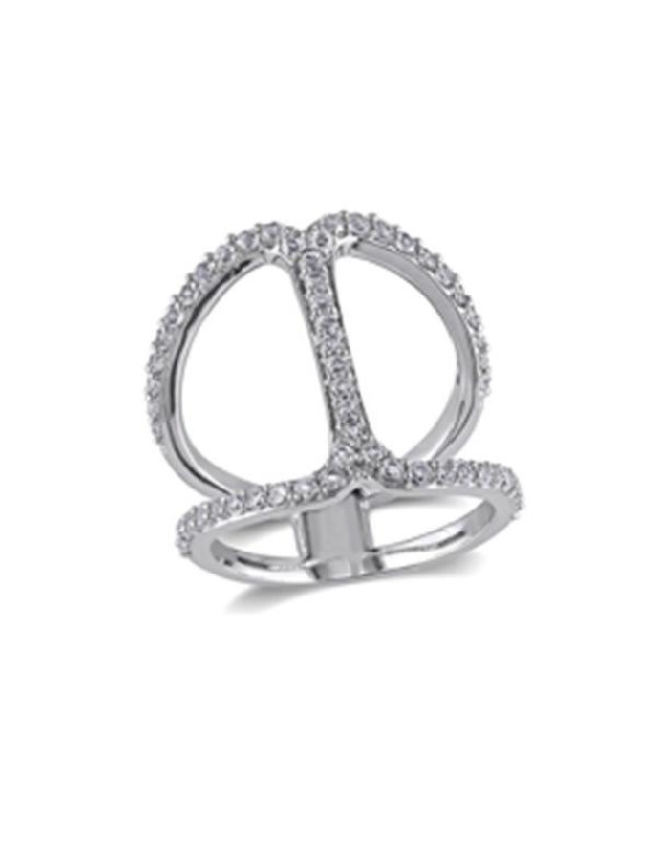 Srebrny pierścionek z cyrkoniami Srebrny pierścionek z cyrkoniami