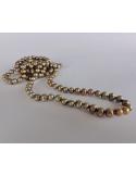 Naszyjnik z pereł - złota zieleń Naszyjnik z pereł - złota zieleń