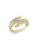 Bransoletka z łańcuszków złoto - czarna