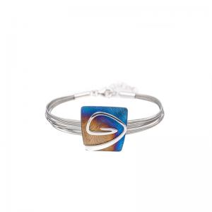 Srebrny pierścionek dwa serca z cyrkoniami