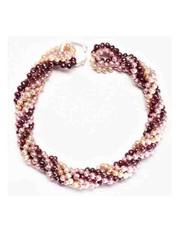 Naszyjnik z pereł - potrójny Naszyjnik z pereł