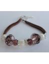 Naszyjnik z pereł - biały