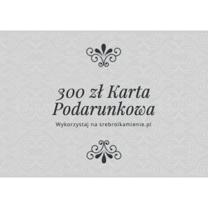Karta podarunkowa o wartości 300 zł
